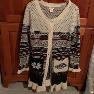 Sundance winter sweater, sz M